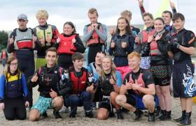 "This was the second group of Lakers members to attend a ""Try Sailing"" course put together by Bray Sailing Club's instructor team in 2017"