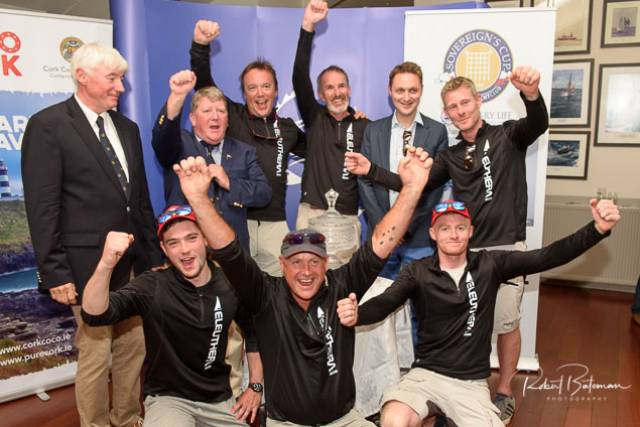 Sovereign's Cup Prizewinners Saluted at Kinsale Yacht Club (Photo Gallery Here!)