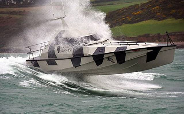 Rockall and Ireland record setter Thunder Child in pre-challenge testing off the Cork coast
