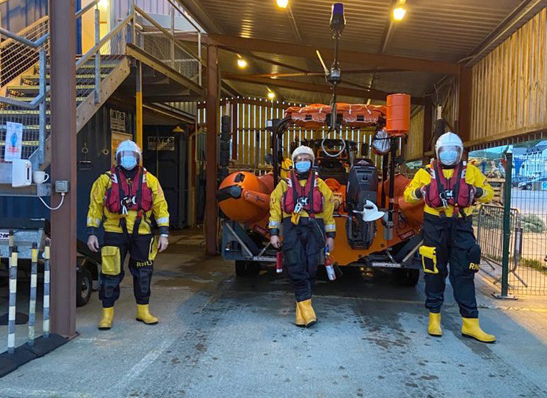The Union Hall RNLI crew