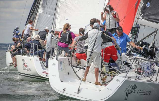 An 11-boat J109 fleet is due in Howth this weekend