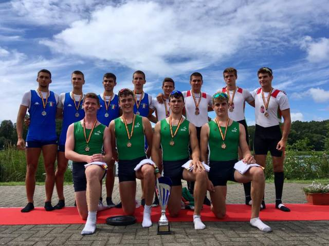 The Ireland Quadruple Which Won Gold today in the Coupe de la Jeunesse