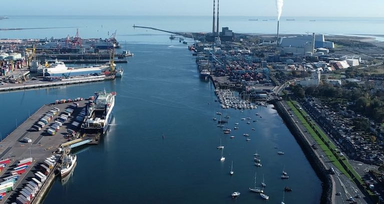 Dublin Port - The growth of 1.2% in Q3 has been export led