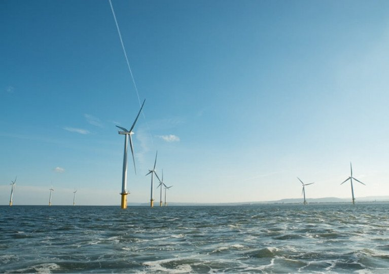 Image illustrating the proposed Codling Wind Park