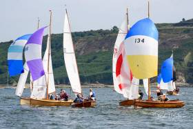 Mermaid racing in Cork Harbour. Scroll down for photo gallery