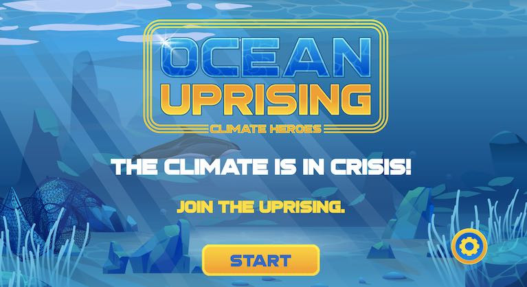 Ocean uprising - a new computer game  dedicated to ending overfishing