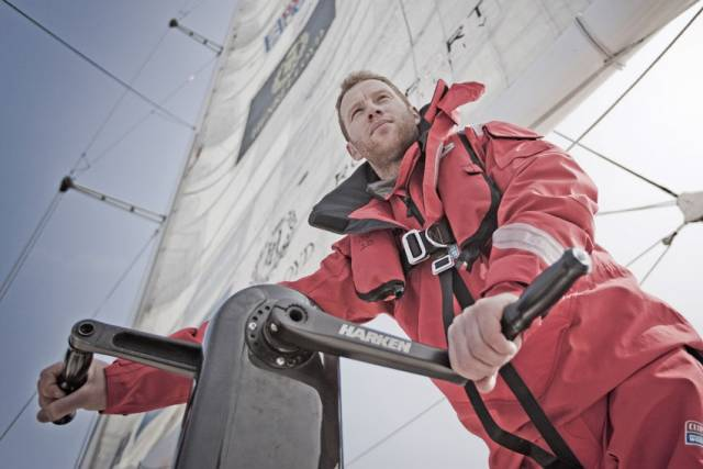 Dan Smith skippered Northern Ireland's entry to second place in the latest Clipper Race