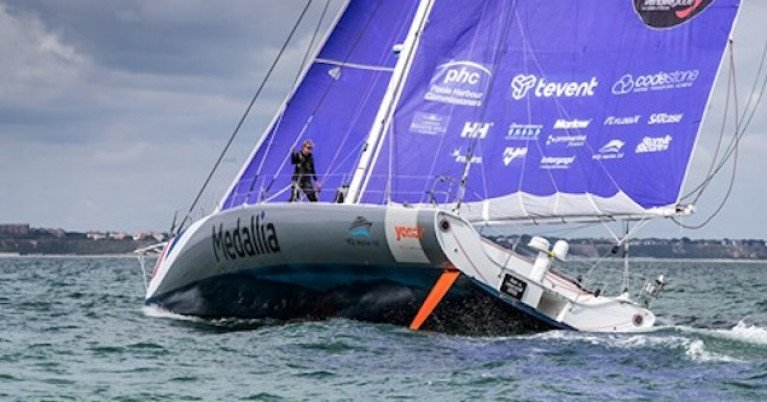 Belfast Lough's Mikey Ferguson Joins Pip Hare's IMOCA Medallia Campaign
