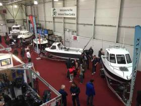 A mix of Raider, Warrior, Beneteau and Bayliner marques up to 19–feet in length were on display at the Angling Show in Swords, representing the new home market in this category