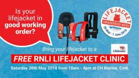 Lifejacket check – get yours tested at CH Marine in Cork