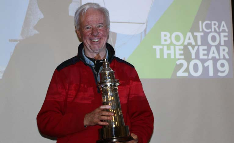 Paul O'Higgins received the Boat of the Year Award for Rockabill VI's overall ICRA performance