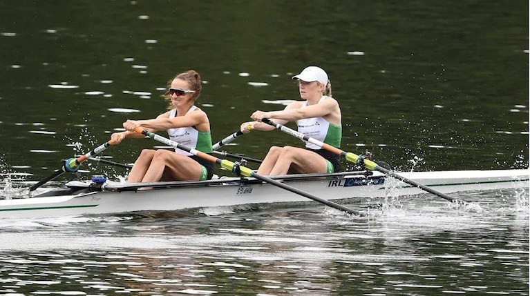 Margaret Cremen and Aoife Casey hopeful of qualifying in the Lightweight Women's Double Scull (LW2X)