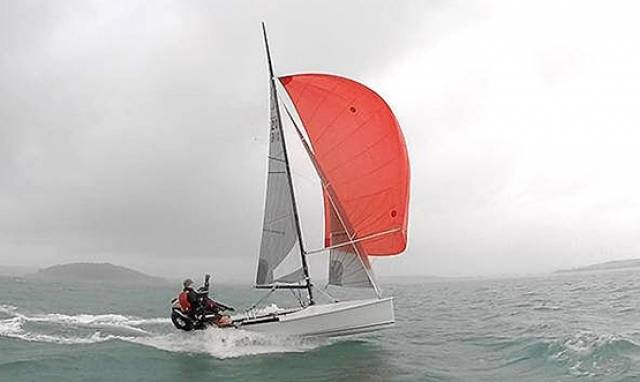 The new National 18 will be on display at the RYA Dinghy Show