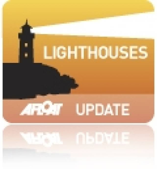 New Low Maintenance LED Light at Inisheer Lighthouse on Aran Islands
