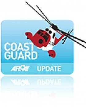 Spanish Fisherman Airlifted To Hospital in Coastguard Medivac