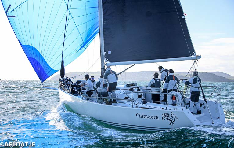 J109 Chimaera Wins on IRC & ECHO in DBSC Saturday Race