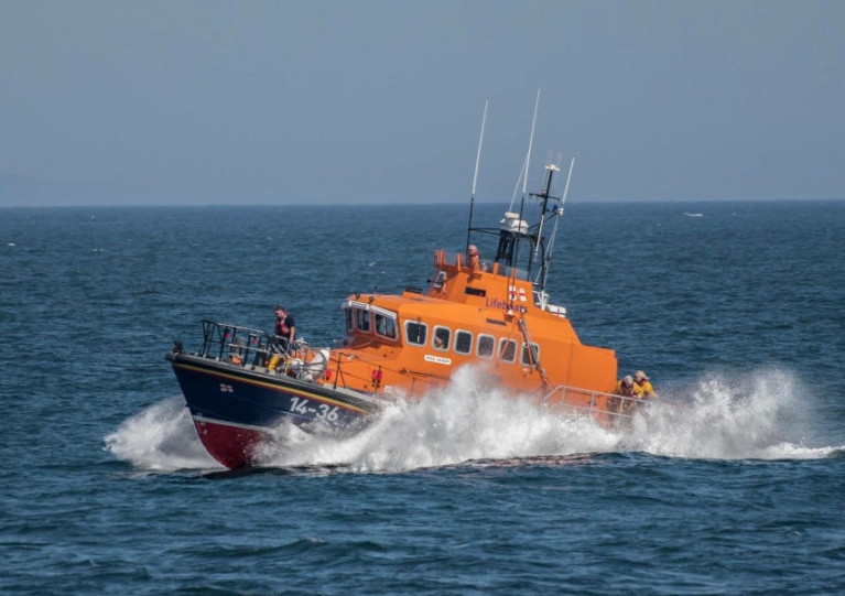 Donaghadee RNLI's all-weather lifeboat Saxon