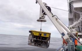 Remotely operated vehicle and detailed seabed maps used to find sensitive underwater habitat