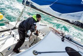 A total distance of 140 miles, Phil will be attempting to break the outright monohull record of 12 hours 1 minute and 31 seconds