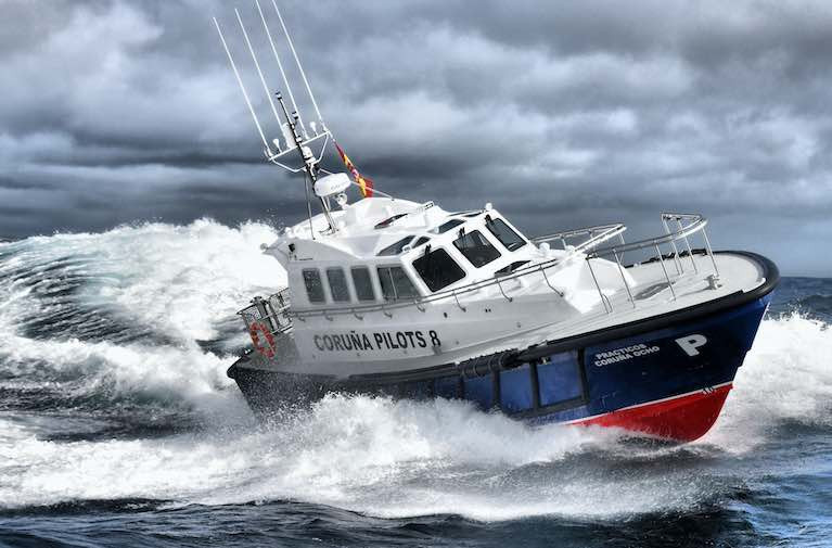 Safehaven Marine Launch New Interceptor 48 for Port of Coruna, Northern Spain
