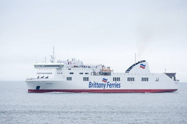 Brittany Ferries Charter of New Ship Will Secure 2020 Season Schedules