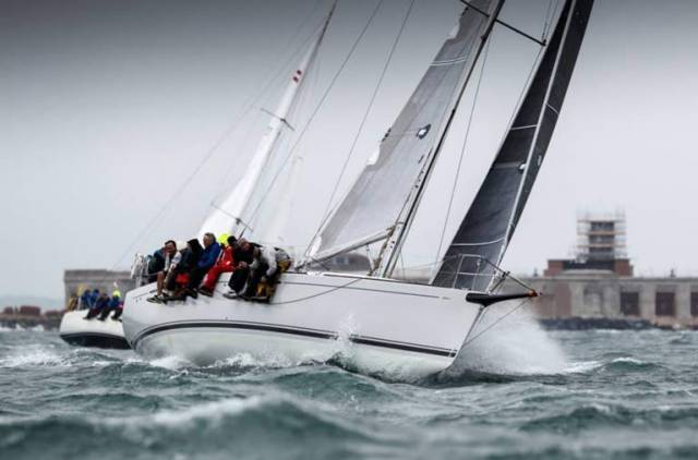 RORC Commodore, Michael Boyd's First 44.7 Lisa, winner of the 2017 Morgan Cup Race