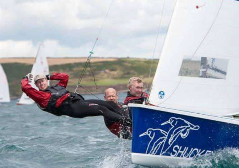 National 18 Shuck'em racing at the Royal Cork