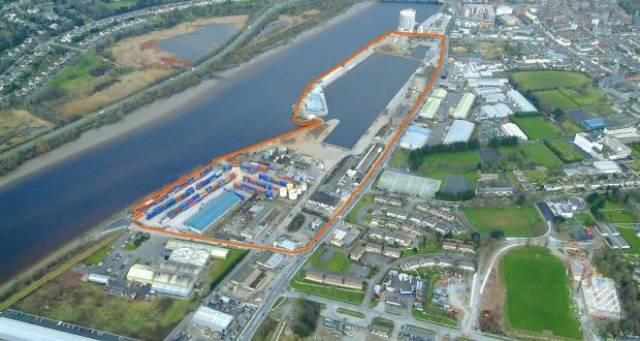 The plan to transform 75 acres of Limerick docklands (including Ted Russell Docks) into an economic hub will involve at least €100m of development.