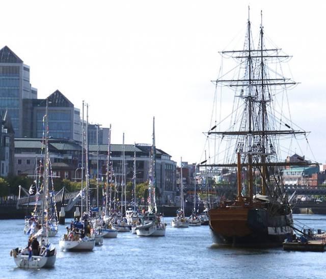 5b3de7df9b Cruising Association Brings Sea Spirit Into The Heart of Dublin City