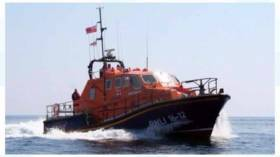 St. Helier lifeboat on Jersey