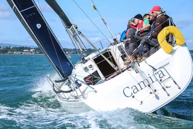 Peter Beamish's Camira has a six-point overnight lead at the Beneteau 31.7 National Championships