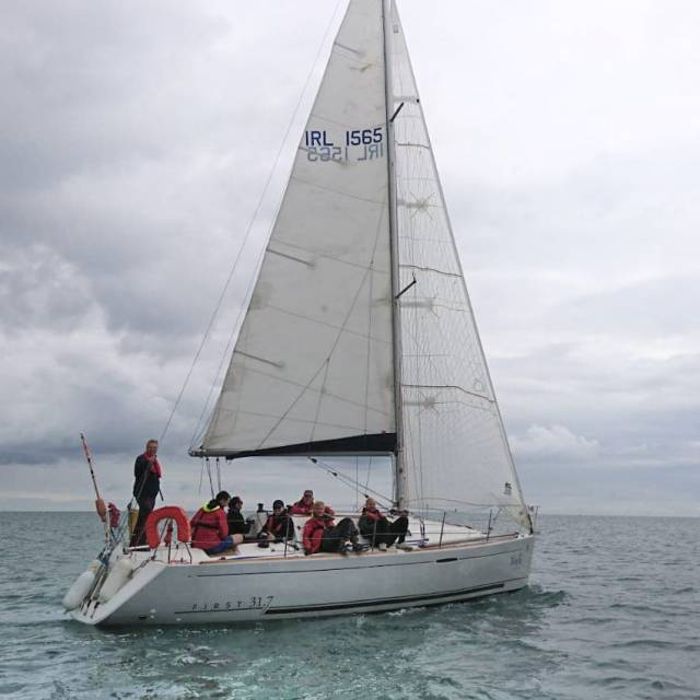 The boat-sharing club's new First 31.7, Mayfly, was purchased earlier this year