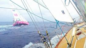 Upwind Caribbean Challenge For Clipper Race Fleet After Panama Canal Crossing