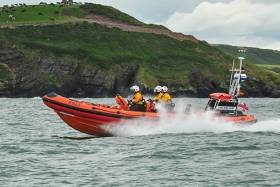 Crosshaven RNLI Lifeboat in Cork Harbour was requested to launch yesterday evening at 9.45pm