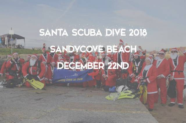 Sandycove Beach Ho-Ho-Hosting Santa Scuba Dive This Weekend To Raise Funds For Lifeboat Charity