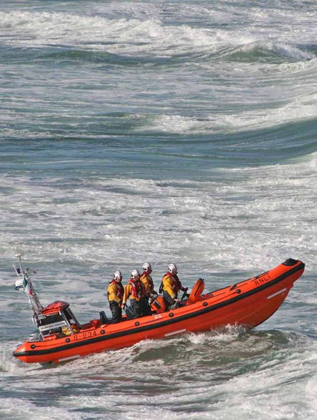 The Bundoran Lifeboat - William Henry Liddington
