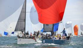 Thursday's 2019 Volvo Dun Laoghaire Regatta has attracted a fleet of 500 boats. Scroll down for a review of the IRC fleet divisions