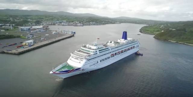 Oriana in Killybegs