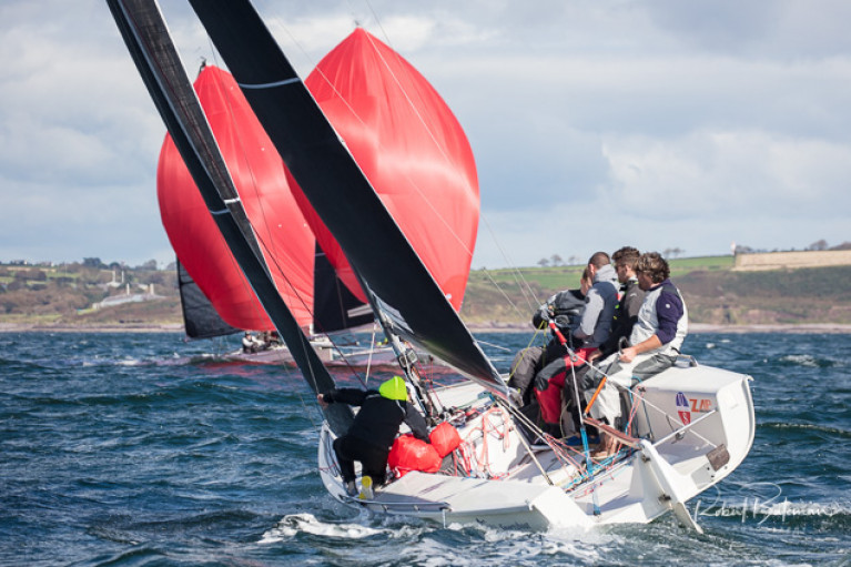 Robert O'Leary and the Dutch Gold crew are looking to retain the 1720 title in Cork Harbour on September 25th