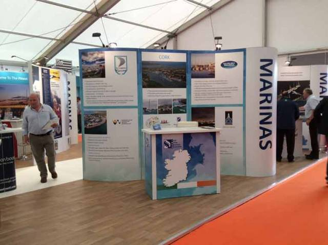 The Irish Marina Operators are one of a number of Irish Marine industry stands at Southampton Boat Show