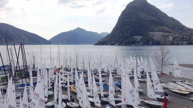 Irish youth sailors are competing at the Europa Cup in Lugano, Switzerland