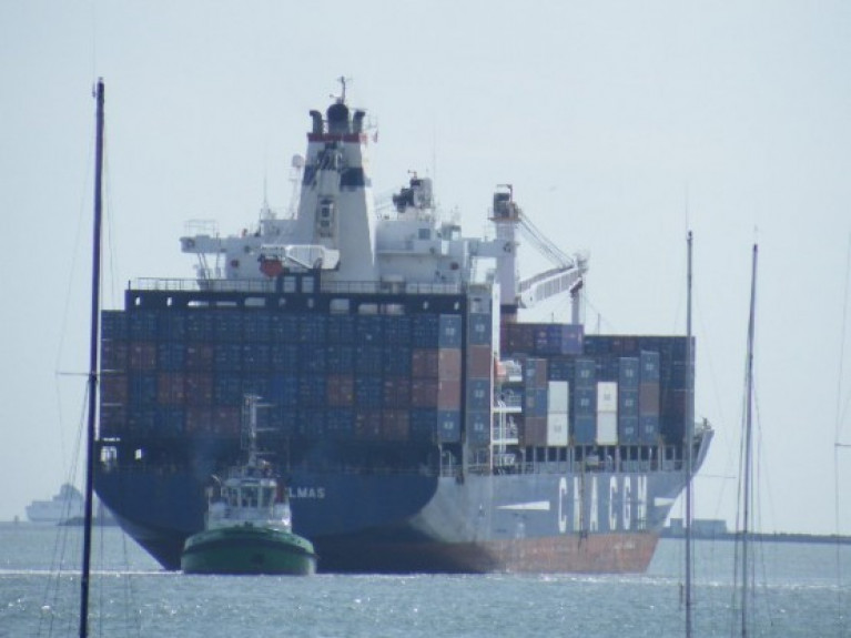 UK Free Ports: Many of the 30 ports believed to be preparing bids for free port status are in UK northern areas won by the Conservatives. Above: File photo of containership Nicolas Delmas AFLOAT adds when operating between Irish and UK ports in addition connecting continental mainland Europe.
