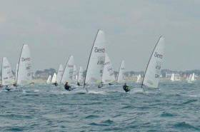 Sean Craig sailing IRL 2382 at Carnac