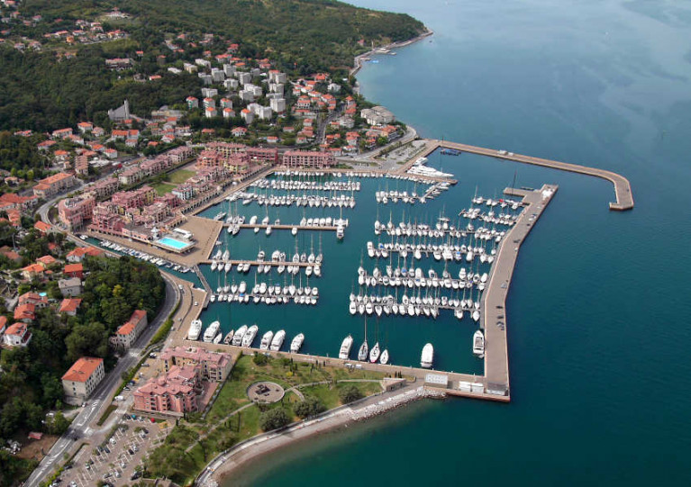 The marina in Porto San Rocco was to host the J/24 Europeans next month