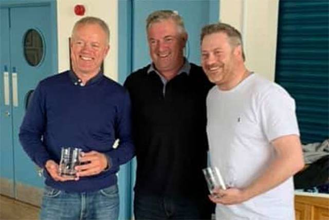 SB20 Northern winners - Jerry and Jimmy Dowling and Stefan Hyde