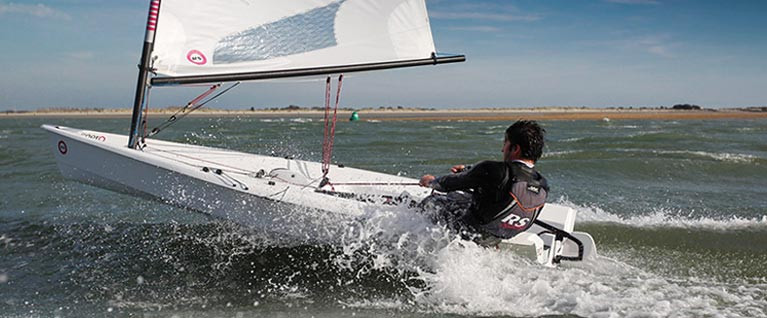 RS Aero & Laser Dinghy Fixture Clash at Dun Laoghaire Harbour
