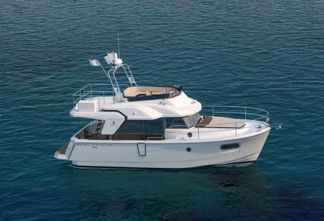 Beneteau's new Swift Trawler 35 will get a world launch in Southampton