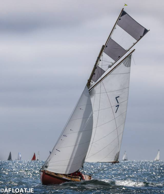 Ian & Judith Malcolm's 1898-built Aura has emerged as Howth 17 Champion from the VDLR 19