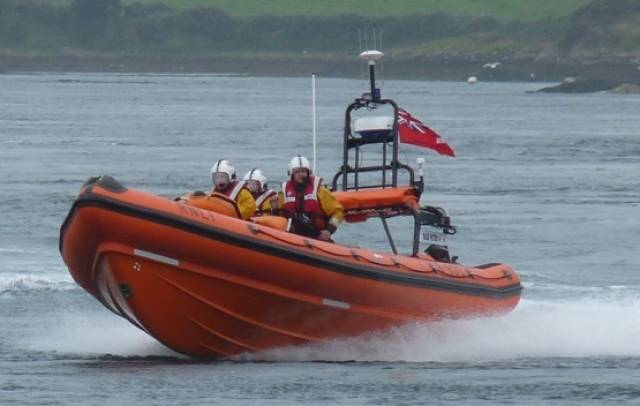 Portaferry RNLI on exercise