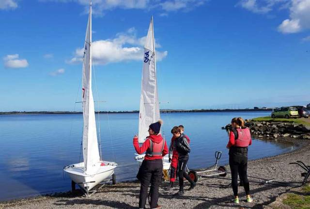 Sailors from Malahide Yacht Club, Howth Yacht Club, Greystones Sailing Club and the National Yacht Club took part in this first introductory day